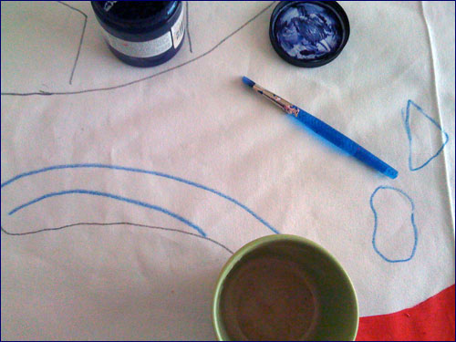 coffee and paint